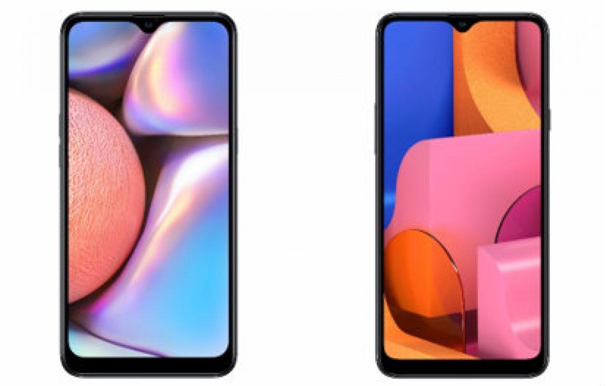 Samsung anuncia os novos Galaxy A10s e A20s