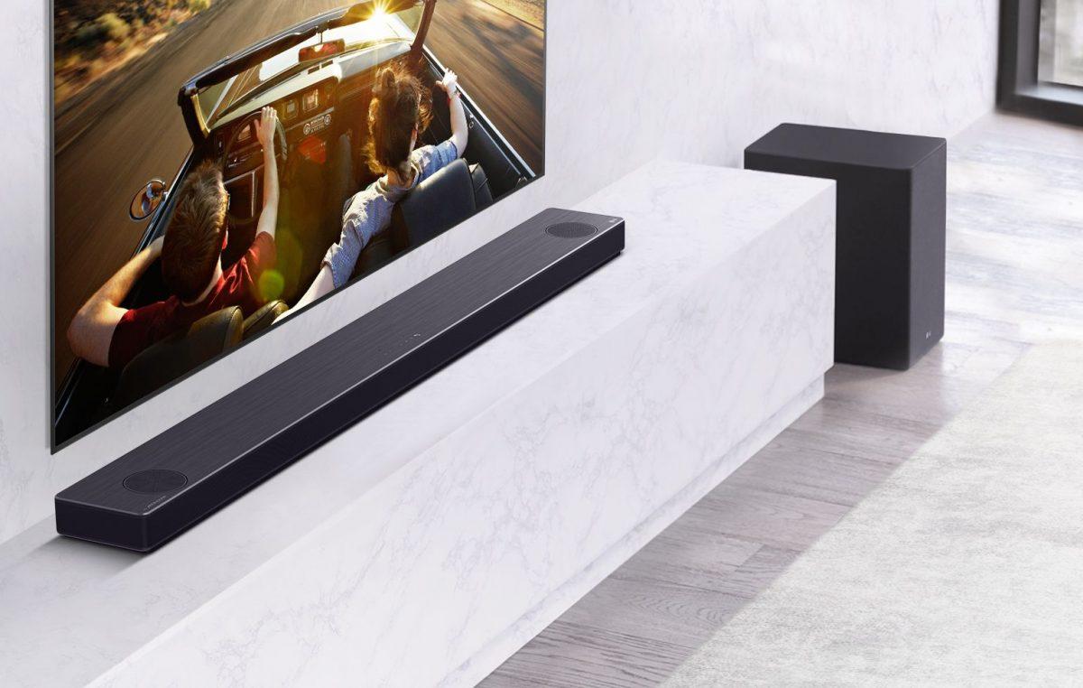 Nova linha de soundbars da LG traz experiência de áudio premium