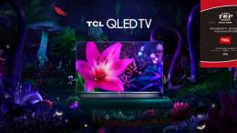 TCL ganha prêmio 8K QLED TV Gold Award na CES 2020