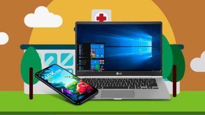 LG vai fornecer notebooks e smartphones para hospitais de campanha