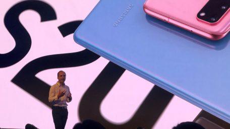 Samsung apresenta os novos Galaxy S20, S20+ e S20 Ultra