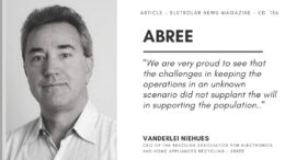 ABREE – The union of the home appliances and consumer electronics sector in the pandemic