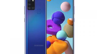 Novos smartphones Galaxy