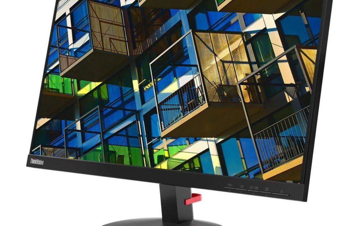 Lenovo: monitores profissionais para auxiliar no trabalho remoto