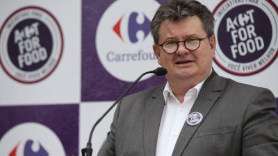 Carrefour vai acelerar sem perder rentabilidade, afirma Noël Prioux