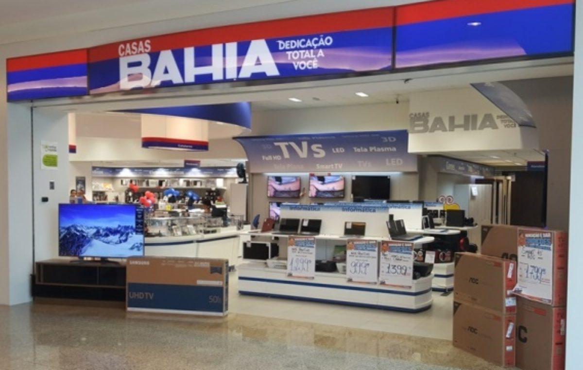 Casas Bahia registra aumento na procura por TVs e produtos de informática no Rio de Janeiro
