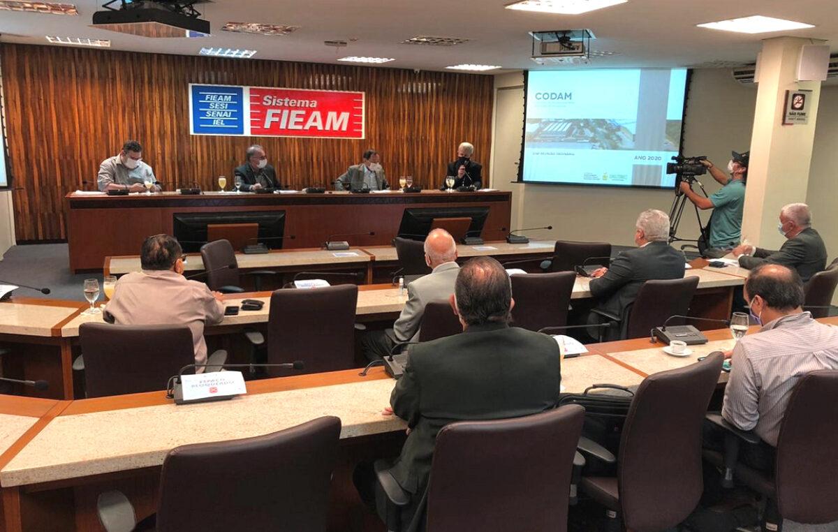 Codam aprova 39 projetos industriais. Investimentos de R$ 4,5 bilhões.