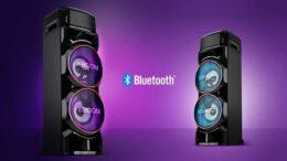 LG apresenta sua nova linha de caixas acústicas