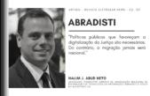 ABRADISTI – Transformação digital do sistema judicial e suas implicações