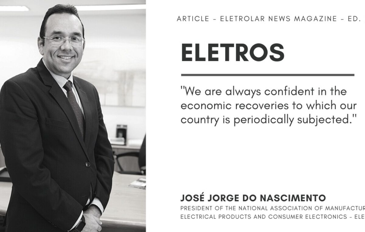 ELETROS – IT'S TIME TO START RECOVERING