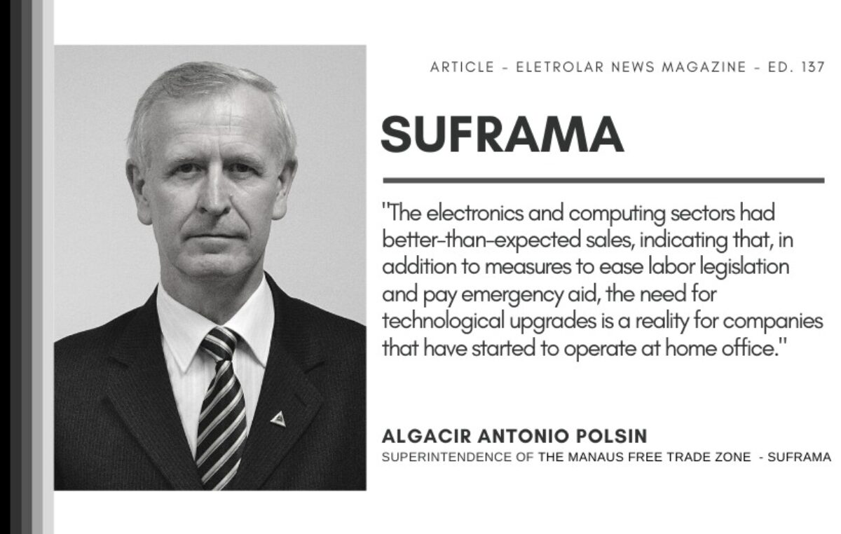 SUFRAMA – Consumer electronics and home appliances boosts the Manaus Industrial Park (PIM)