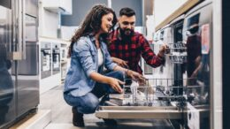Dishwasher sales have increased 40% during the pandemic