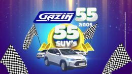 Grupo Gazin completa 55 anos com sorteios de 55 SUVs