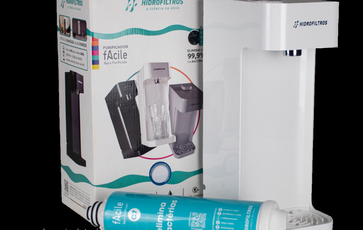 Hidrofiltros lança purificador com ação bacteriológica