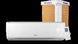 Gree lança ar-condicionado com proteção Goldenfin