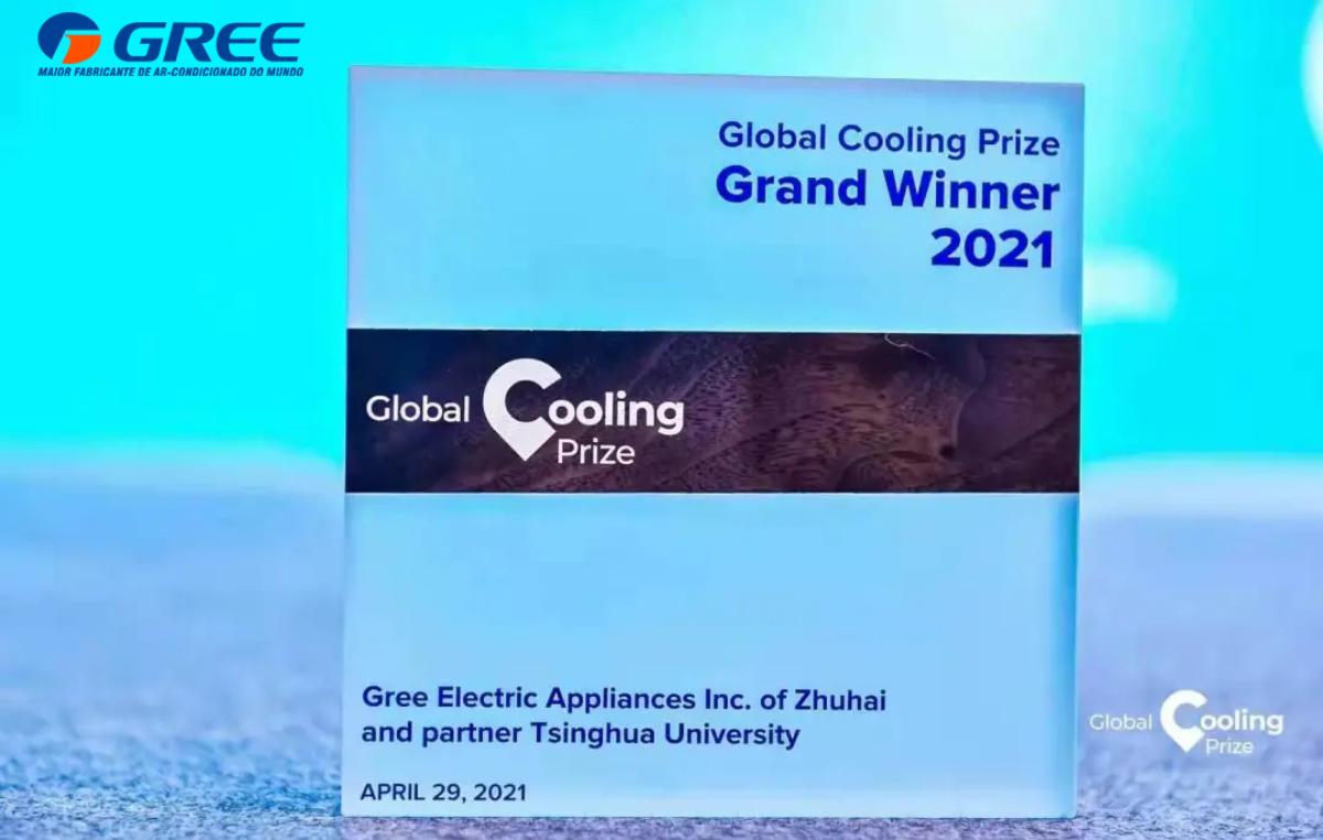 Gree Electric Appliances ganha prêmio Global Cooling