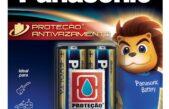 Panasonic  lança pilhas alcalinas de tecnologia antivazamento