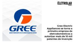 Gree Electric Appliances se torna a primeira empresa de eletrodomésticos a autorizar mais de 10 mil patentes de invenção