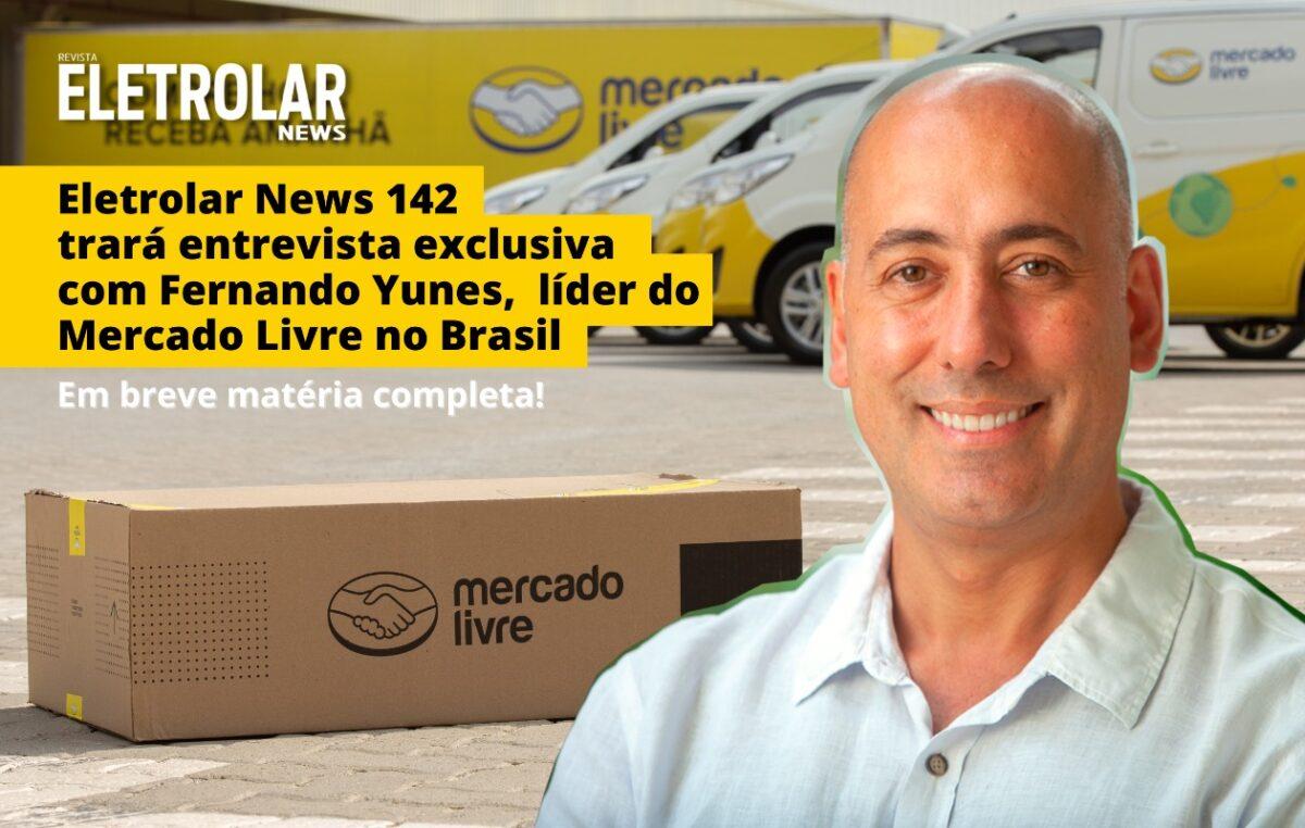 Mercado Livre investe R$ 10 bilhões no Brasil, este ano