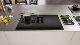 Franke lança a Extractor Mythos – Integração do cooktop de indução com coifa