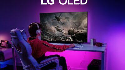 LG apresenta nova LG OLED TV 48C1 com foco no público gamer