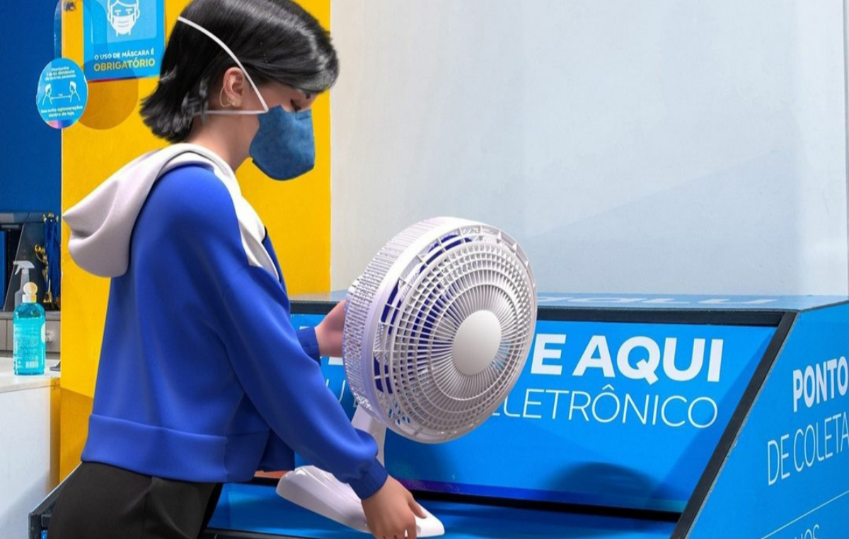 Magalu passa a fazer a coleta responsável de lixo eletrônico