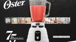 Oster® lança edição limitada para comemorar os 75 anos do liquidificador Osterizer
