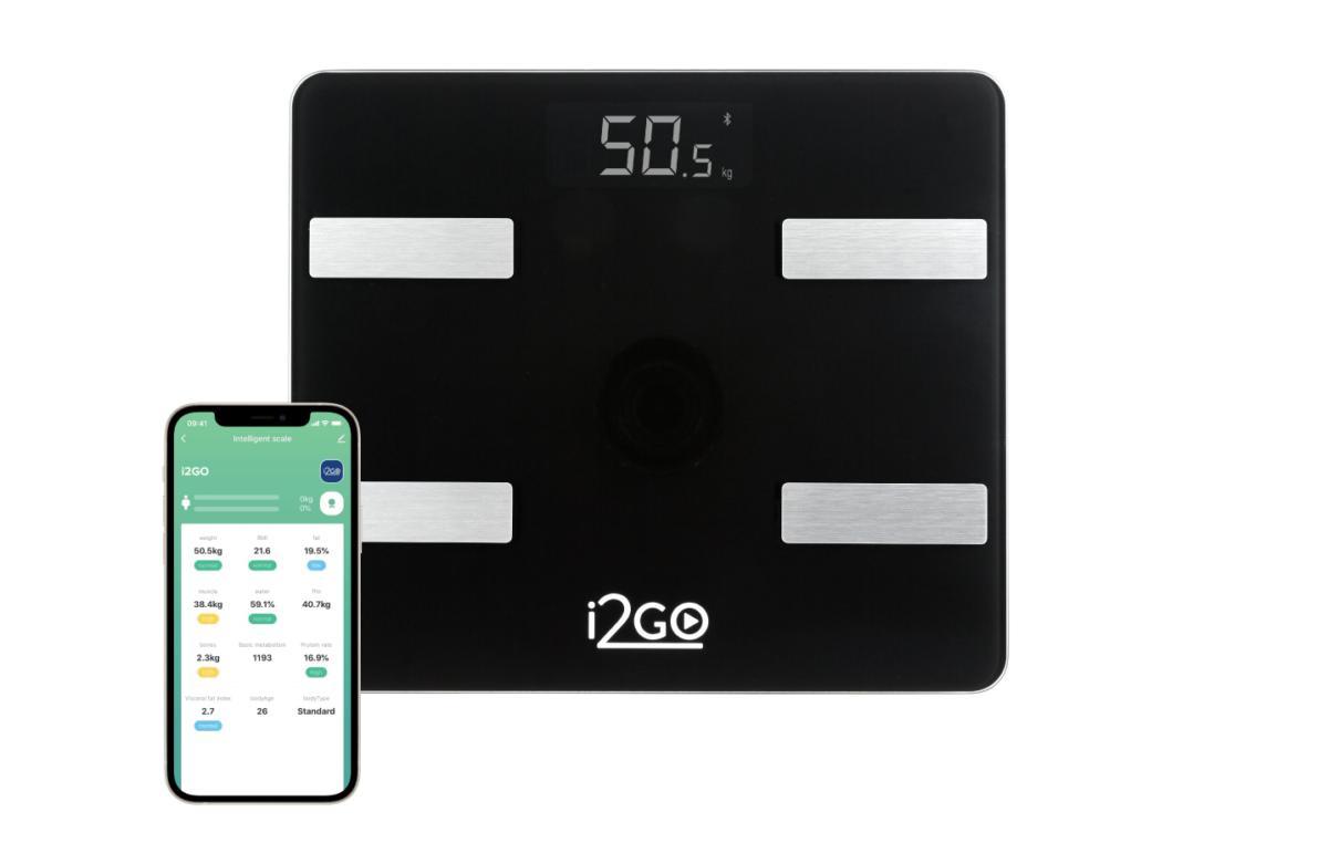 i2GO une tecnologia com saúde e lança balança inteligente de bioimpedância via APP