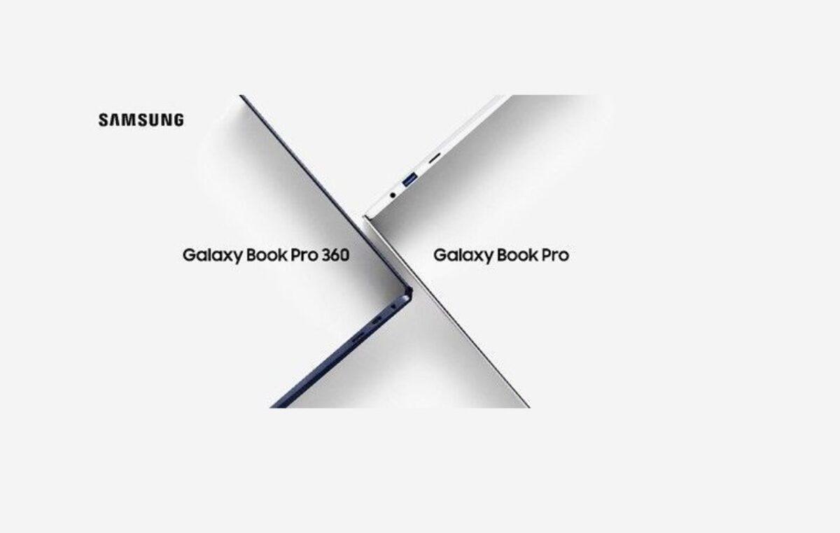 Samsung lança os notebooks Galaxy Book Pro e Galaxy Book Pro 360 no Brasil