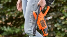 BLACK+DECKER lança Pistola de Pressão para limpeza à bateria 350PSI