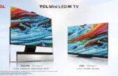 TCL lança Mini LED TVs Premium com desempenho 8K