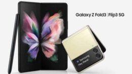 Samsung lança Galaxy Z Fold3 5G e Z Flip3 5G no Brasil